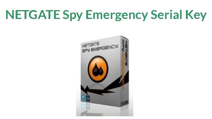 NETGATE Spy Emergency 25.0.810.0 Crack 2021 Serial Key Download Latest